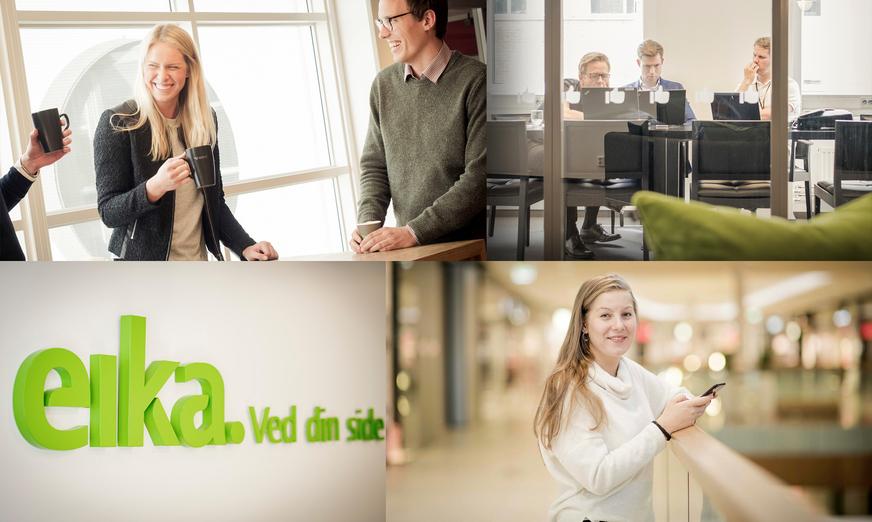 Eika søker UX-leads til våre mest sentrale team