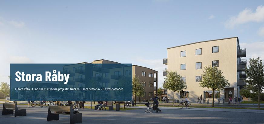 platschef bygg Lund