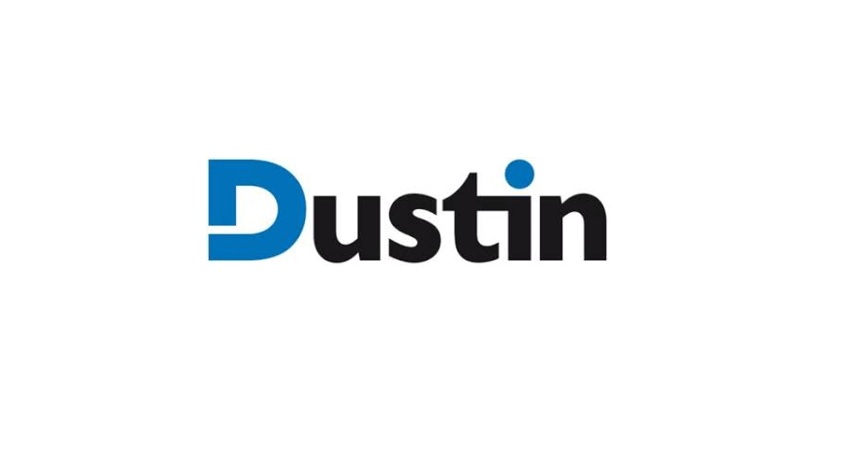 Account Manager till Dustin logotyp