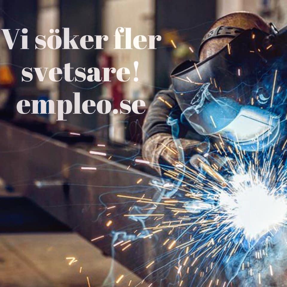 Svetsare till våra kunder i Ljungbyområdet