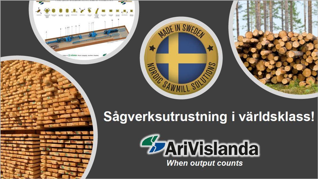 Teknisk Projektledare med gedigen sågverkserfarenhet till AriVislanda