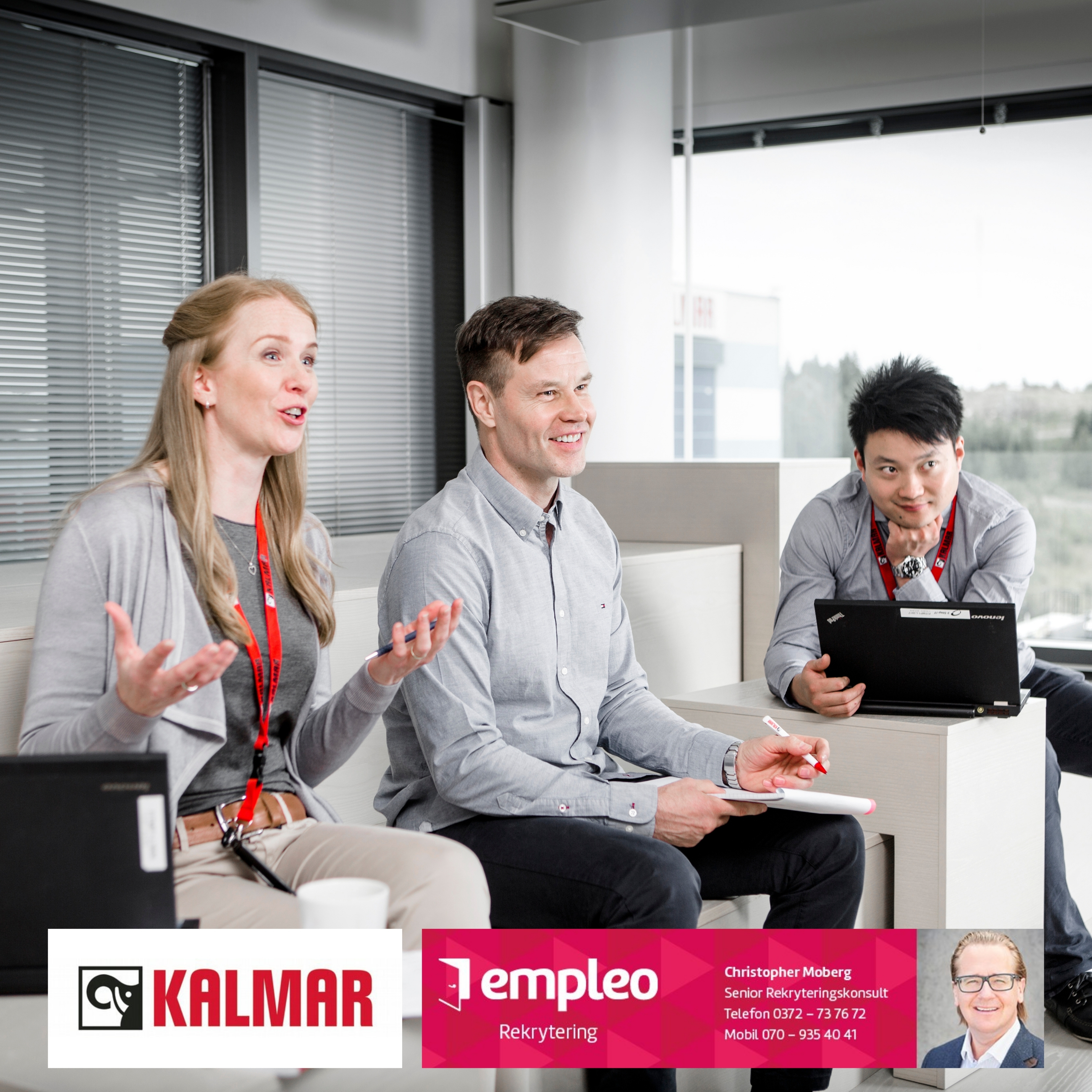 Area Sales Manager Kalmar Spare Parts Business.
