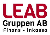 Redovisningskonsult rekryteras till LEAB Gruppen AB