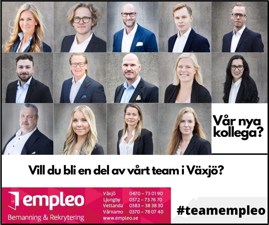 Konsultchef/Rekryteringsassistent till Empleo i Värnamo