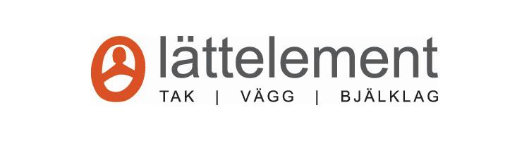 Trämontörer till Lättelement i Örnsköldsvik logotyp